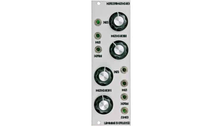 Modularer Synthesizer - Pittsburgh Modular Dual VCA