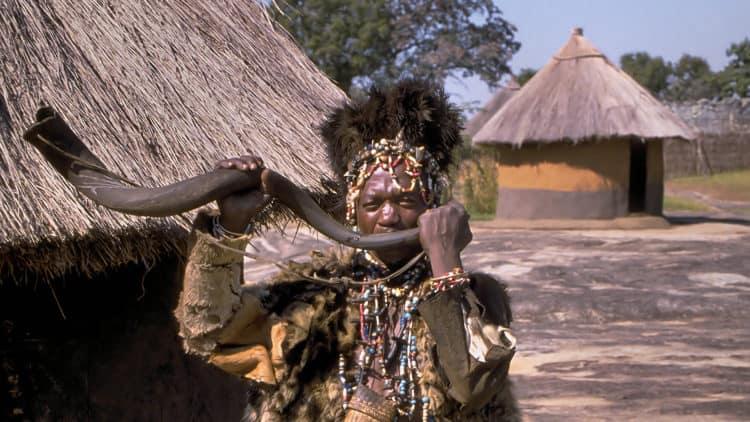 Musikinstrumente Südafrikas - Kudu Vuvuzela