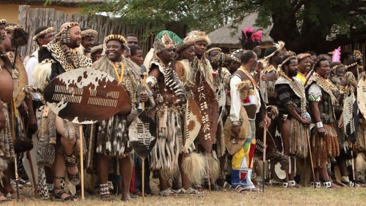 Südafrikanische Musikinstrumente