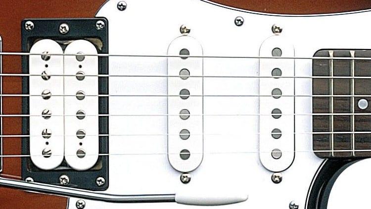 Yamaha Pacifica 112V Review - Tonabnehmer