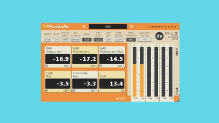 TBProAudio dpMeter III