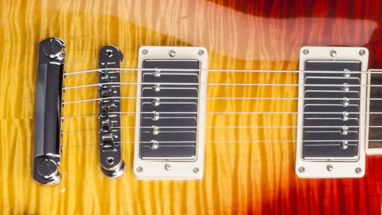 Gibson Les Paul Standard 2017 T Review - Humbucker & Hardware