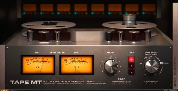 PreSonus CTC-1 Pro Console Shaper Review - Ein weiterer Mix FX: Softube Tape
