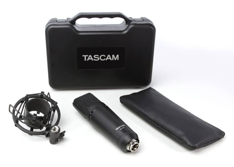 Tascam TM-180 Review - Lieferumfang