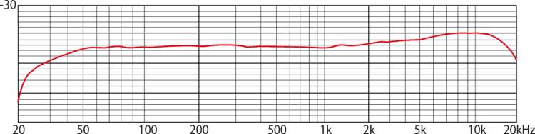 Tascam TM-60 Testbericht - Frequenzgang
