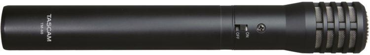 Test des Tascam TM-60 - Das Mikrofon von der Seite