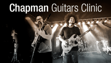 Chapman Guitars Clinic