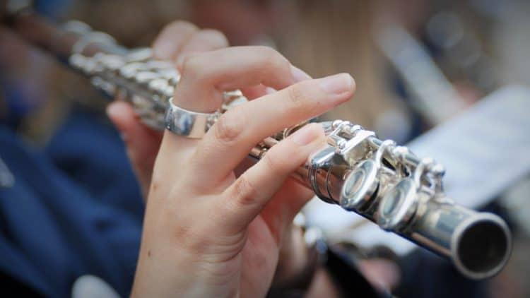 Instrumentenmikrofon: Mikrofonierung - Flöte