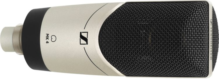 Sennheiser MK 4 digital - Analoges Mikrofon mit XLR