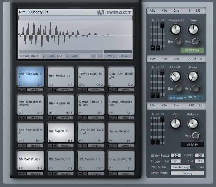 Drum Machine Samples Review - PreSonus Goldbaby Essentials Collection