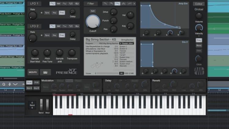 Presence XT - der Sampler für das PreSonus Symphonic Orchestra
