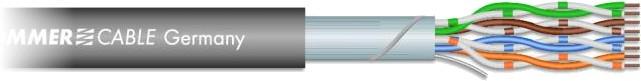Für digitale Audiosignale, Netzwerke & DMX-Steuersignale: Sommer Cable SC-Mercator CAT.5e - Hochwertiges Kabel