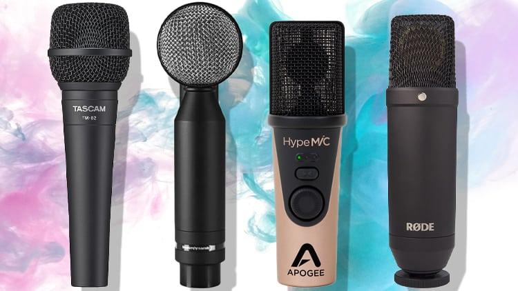 studio mikrofon typen
