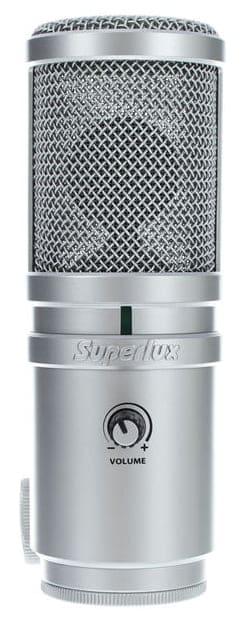 Superlux E205U - USB-Mikrofon Test & Vergleich