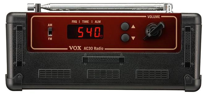 Oberseite - Vox AC30 Radio