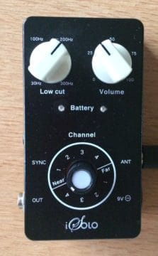 iSolo Receiver als Stompbox