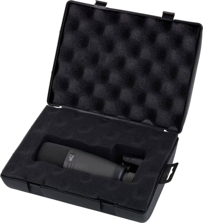 Aufbewahrung für das Kondensatormikrofon t.bone SC-300