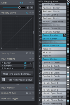 MIDI Mapping in Superior Drummer 3