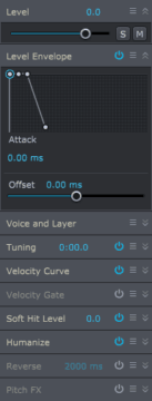 Sound Settings in Superior Drummer 3
