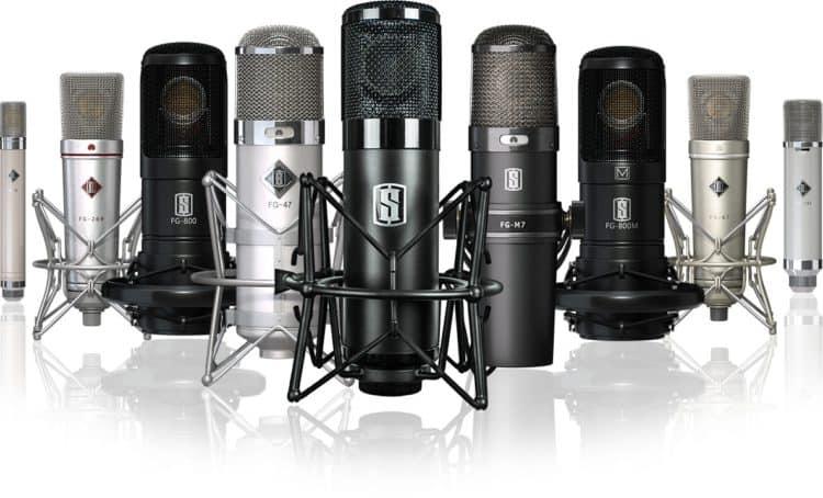 Modellierte Mikrofone bei Townsend Labs Sphere L22