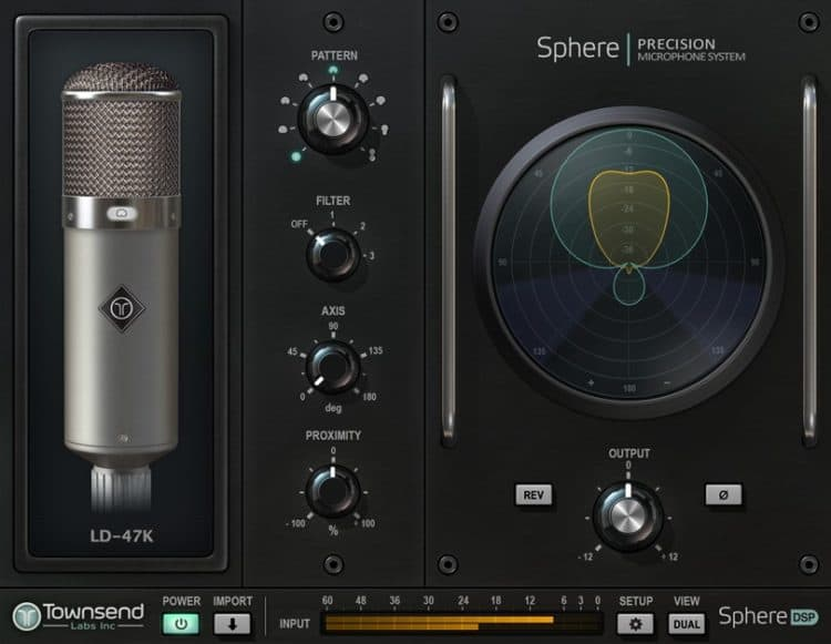 Die Software: Das Plugin »Sphere« zum Townsend Labs Sphere L22 Test