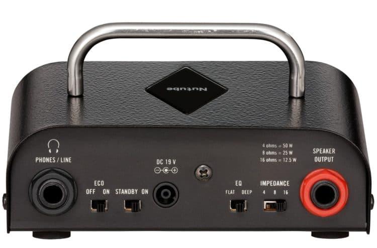 Die Rückseite des Vox MV50 AC