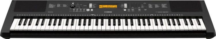 Die Tastatur des Yamaha PSR-EW300