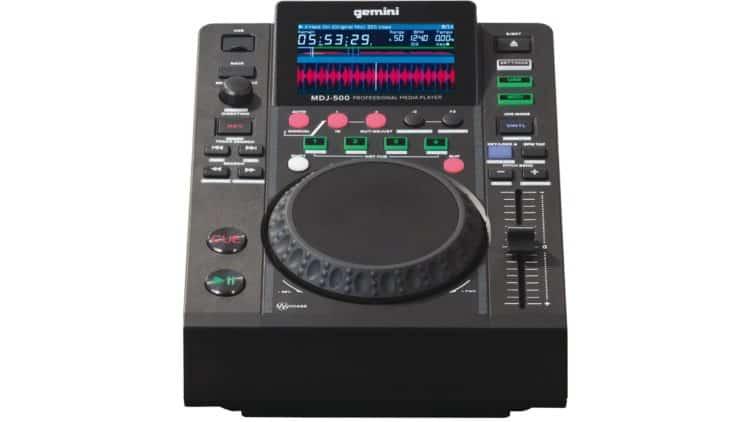 Media Player - DJ-Ausrüstung (Anfänger) - Gemini MDJ-500