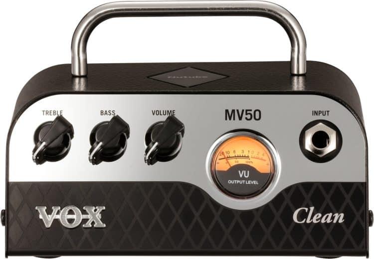 Vorderseite des VOX MV50 Clean
