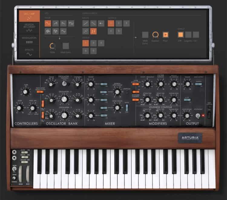 Synthesizer mit Arpeggiator - Stranger Things Theme