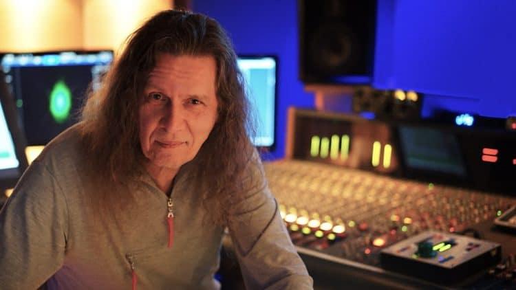 Fritz Fey Interview - Tonstudio Verkabelung