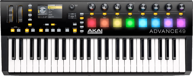Echte Alternative zum NI Komplete Kontrol S49 Mk2 Test - das Akai Advance 49