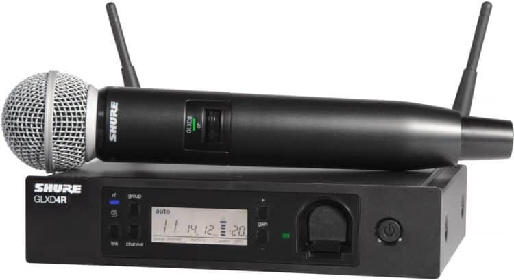 Aus der Serie Shure GLX-D Advanced: GLXD24R/SM58 (inkl. Shure SM58)