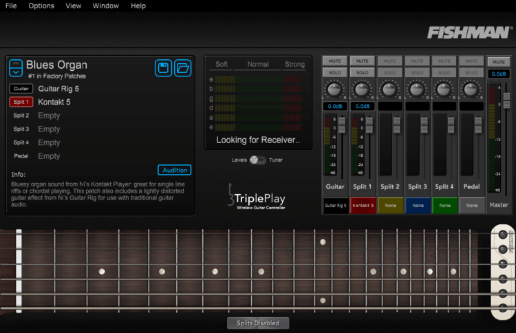 Fishman TriplePlay Software