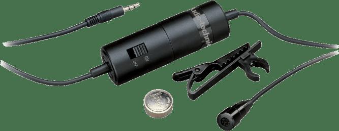 Ein Lavalier-Mikrofon (Ansteckmikrofon) - an den Computer anschließen und fertig!