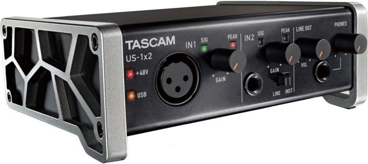 Tascam US-1x2 - ein USB Audio Interface als beste Lösung zum Mikrofonanschluss an PC, Mac, iPad & Co.