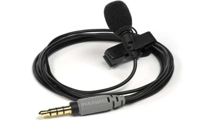 Einfaches (Lavalier-)Mikrofon anschließen - RØDE smartLav+