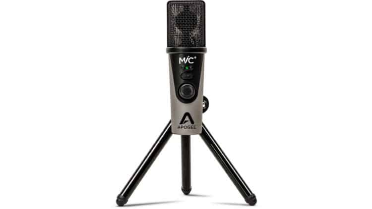 USB-Mikrofon anschließen - Apogee MiC+