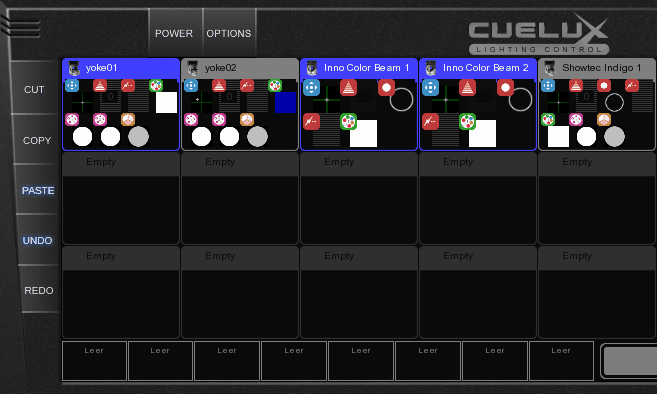 6. Cueliste (Szenen) - Moving Lights programmieren