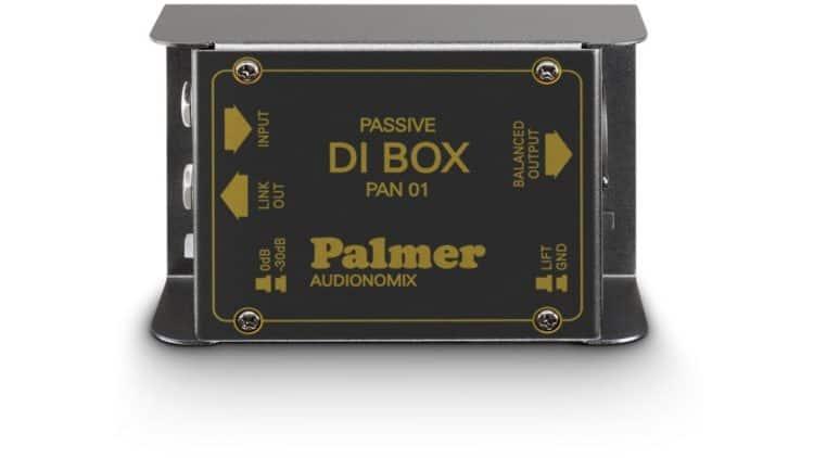 Palmer PAN01 - DI-Box für den FOH-Techniker