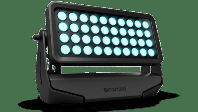 Cameo Zenit W600 - Wash als stationärer Scheinwerfer