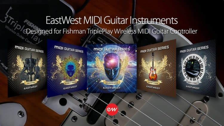 Volume 1-5 - EastWest MIDI Guitar Instruments Review