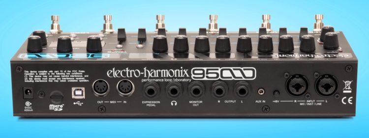 Anschlüsse an der Rückseite - Electro-Harmonix 95000