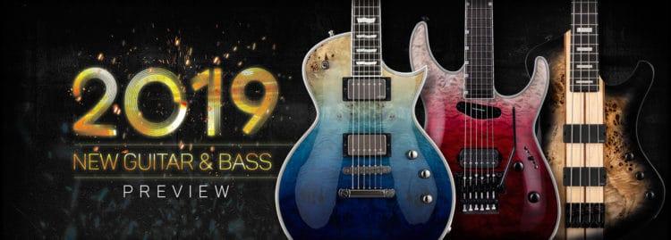 ESP Gitarre & Bass 2019 - NAMM Gerüchte