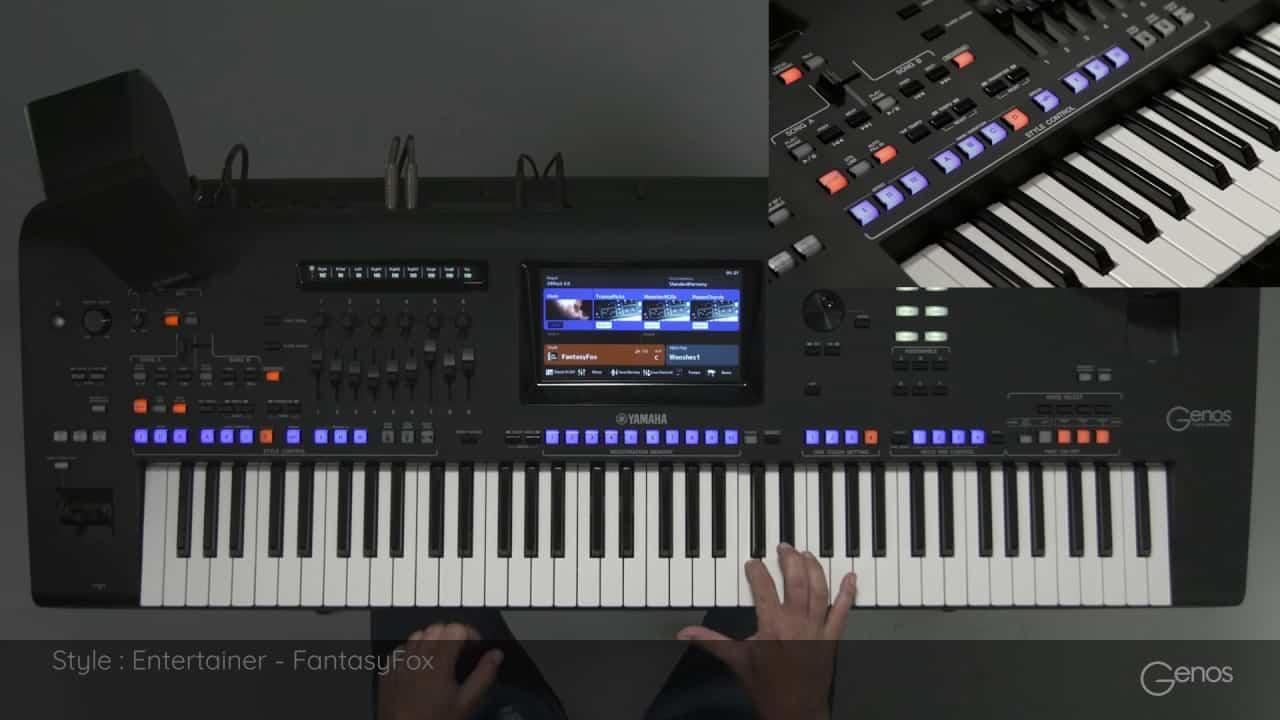 yamaha genos test flaggschiff der arranger keyboards. Black Bedroom Furniture Sets. Home Design Ideas