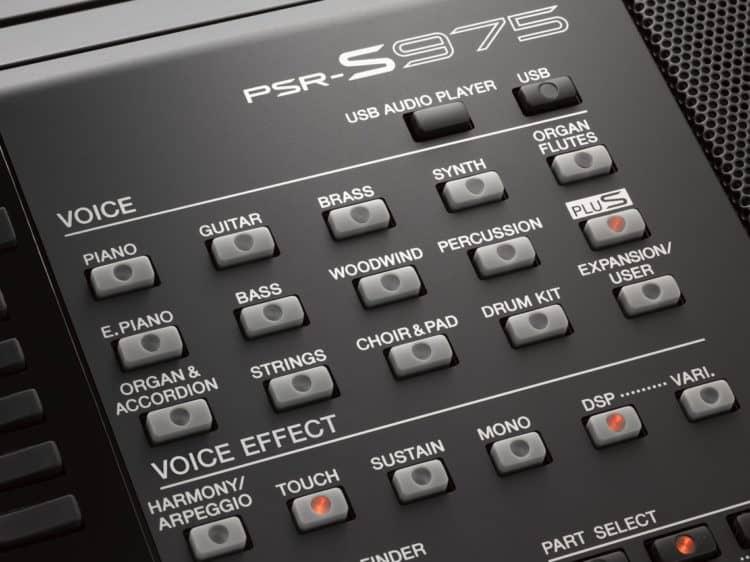 Detail - Yamaha PSR-S975
