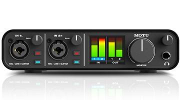 bestes audio interface motu m2