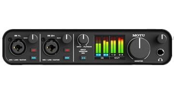 bestes audio interface motu