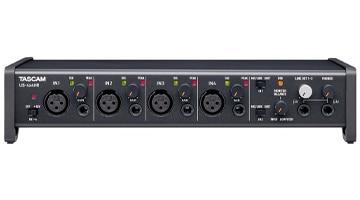 bestes audio interface tascam