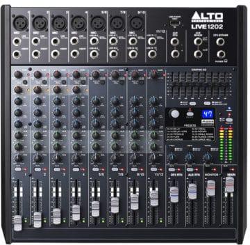 Mischpult Empfehlung für Bands - Alto Live 1202